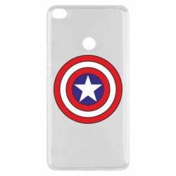 Чехол для Xiaomi Mi Max 2 Captain America