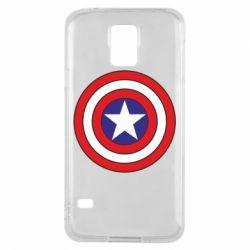 Чехол для Samsung S5 Captain America