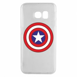Чехол для Samsung S6 EDGE Captain America