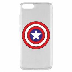 Чехол для Xiaomi Mi Note 3 Captain America