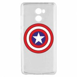 Чехол для Xiaomi Redmi 4 Captain America