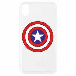 Чехол для iPhone XR Captain America
