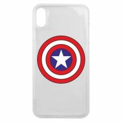 Чехол для iPhone Xs Max Captain America