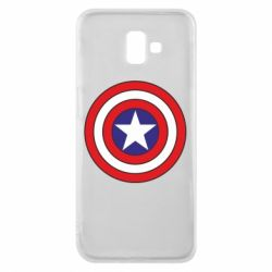 Чехол для Samsung J6 Plus 2018 Captain America