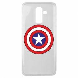 Чехол для Samsung J8 2018 Captain America
