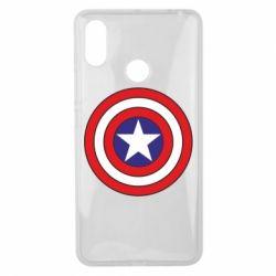 Чехол для Xiaomi Mi Max 3 Captain America