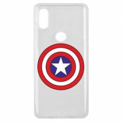 Чехол для Xiaomi Mi Mix 3 Captain America