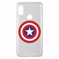 Чехол для Xiaomi Redmi Note 6 Pro Captain America
