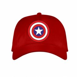 Детская кепка Captain America - FatLine