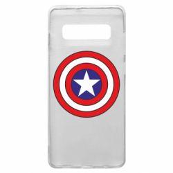 Чехол для Samsung S10+ Captain America