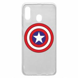 Чехол для Samsung A20 Captain America