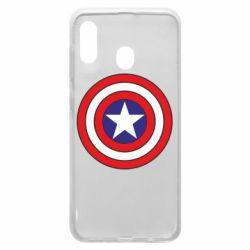 Чехол для Samsung A30 Captain America