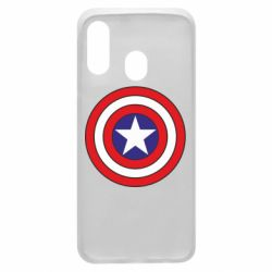 Чехол для Samsung A40 Captain America