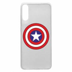 Чехол для Samsung A70 Captain America