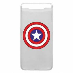 Чехол для Samsung A80 Captain America