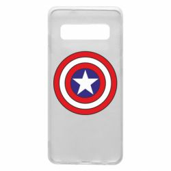 Чехол для Samsung S10 Captain America