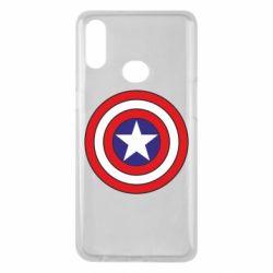 Чехол для Samsung A10s Captain America