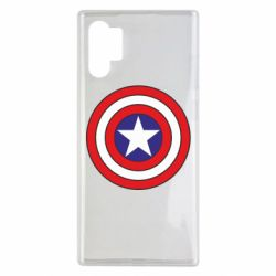 Чехол для Samsung Note 10 Plus Captain America