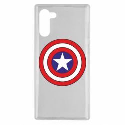 Чехол для Samsung Note 10 Captain America