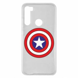 Чехол для Xiaomi Redmi Note 8 Captain America