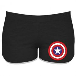 Женские шорты Captain America