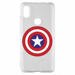 Чехол для Xiaomi Redmi S2 Captain America