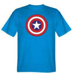 Мужская футболка Captain America - FatLine