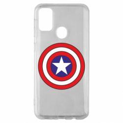 Чехол для Samsung M30s Captain America
