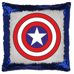 Подушка-хамелеон Captain America