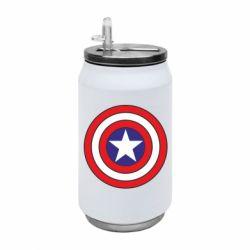 Термобанка 350ml Captain America