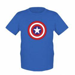 Детская футболка Captain America - FatLine