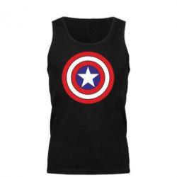 Мужская майка Captain America - FatLine