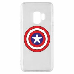 Чехол для Samsung S9 Captain America