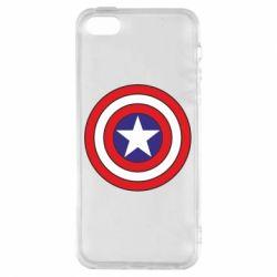 Чохол для iphone 5/5S/SE Captain America