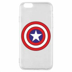 Чохол для iPhone 6/6S Captain America