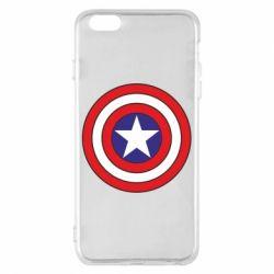 Чехол для iPhone 6 Plus/6S Plus Captain America