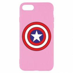 Чехол для iPhone 7 Captain America