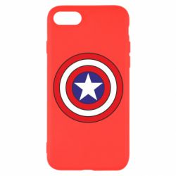 Чехол для iPhone 8 Captain America