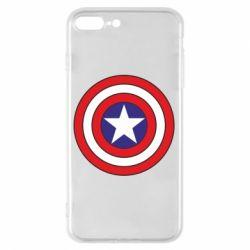 Чехол для iPhone 8 Plus Captain America
