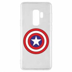 Чехол для Samsung S9+ Captain America