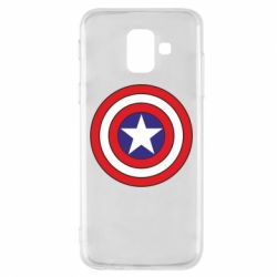 Чехол для Samsung A6 2018 Captain America