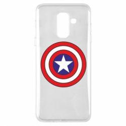 Чехол для Samsung A6+ 2018 Captain America