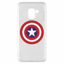 Чехол для Samsung A8 2018 Captain America