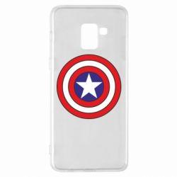 Чехол для Samsung A8+ 2018 Captain America