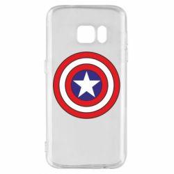 Чехол для Samsung S7 Captain America