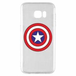 Чехол для Samsung S7 EDGE Captain America