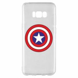 Чехол для Samsung S8+ Captain America