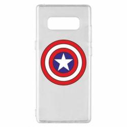 Чохол для Samsung Note 8 Captain America