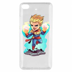 Чехол для Xiaomi Mi 5s Captain marvel hovers in the air