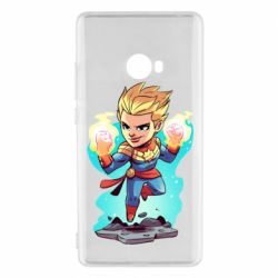 Чехол для Xiaomi Mi Note 2 Captain marvel hovers in the air